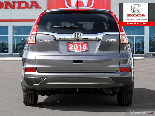 2016 Honda CR-V LX (Stk: 19180B) in Cambridge - Image 5 of 27