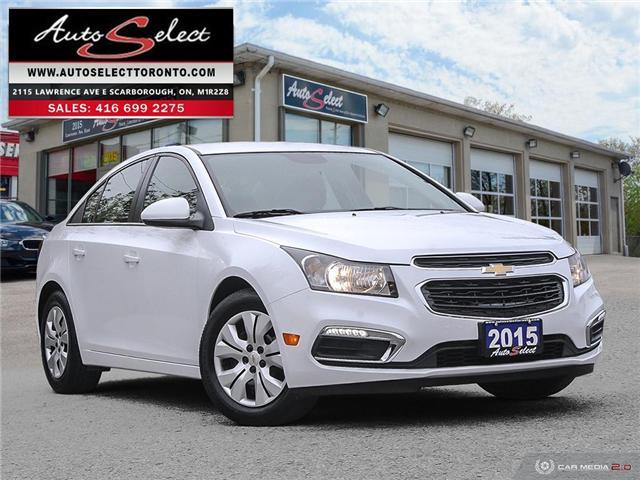 2015 Chevrolet Cruze  (Stk: 15CCR21V) in Scarborough - Image 1 of 28