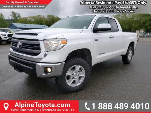 2015 Toyota Tundra  (Stk: X454237M) in Cranbrook - Image 1 of 17