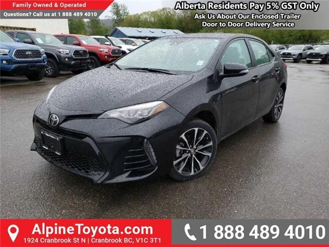 2017 Toyota Corolla SE (Stk: S018540A) in Cranbrook - Image 1 of 16