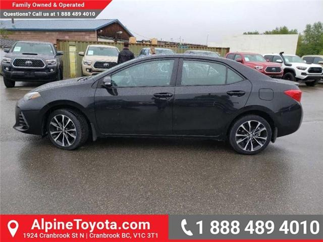 2017 Toyota Corolla SE (Stk: S018540A) in Cranbrook - Image 2 of 16