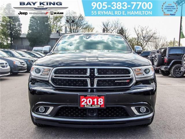 2018 Dodge Durango Citadel (Stk: 6763R) in Hamilton - Image 2 of 26