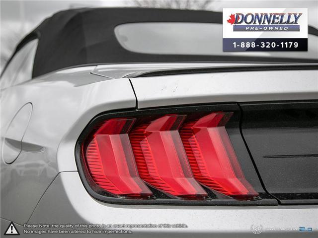 2018 Ford Mustang GT Premium (Stk: PLKU2273) in Kanata - Image 12 of 29