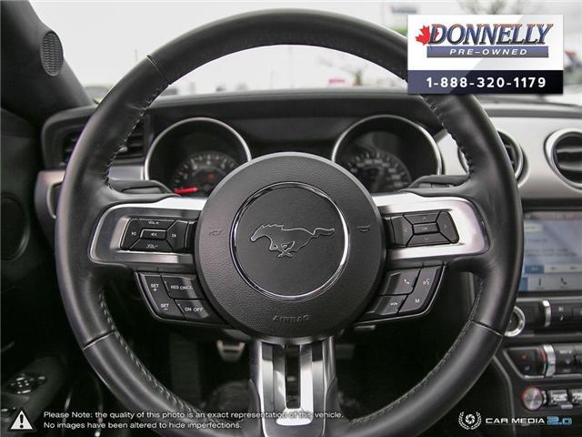 2018 Ford Mustang GT Premium (Stk: PLKU2273) in Kanata - Image 14 of 29