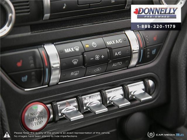 2018 Ford Mustang GT Premium (Stk: PLKU2273) in Kanata - Image 20 of 29