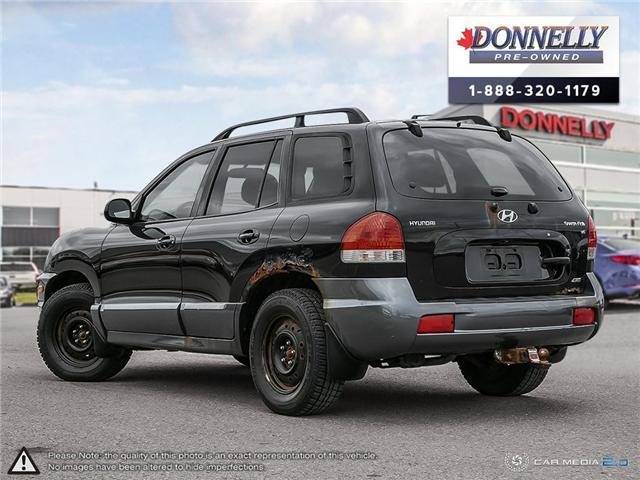 2005 Hyundai Santa Fe  (Stk: PBWMS30A) in Kanata - Image 4 of 29