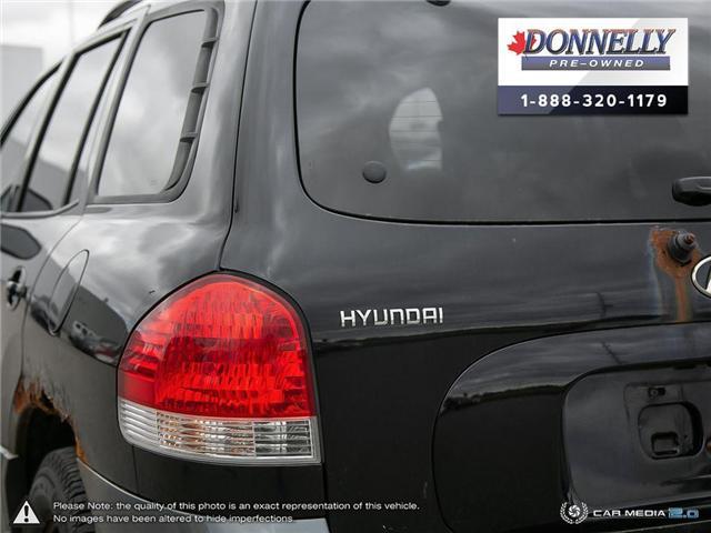 2005 Hyundai Santa Fe  (Stk: PBWMS30A) in Kanata - Image 11 of 29