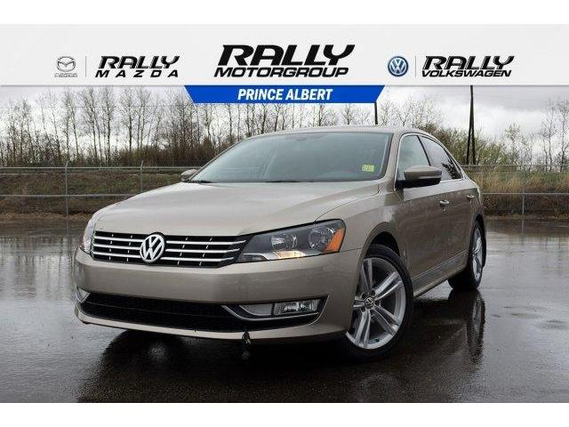 2015 Volkswagen Passat 1.8 TSI Highline (Stk: 18151A) in Prince Albert - Image 1 of 11
