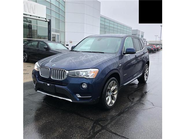 2016 BMW X3 xDrive35i (Stk: T694001A) in Oakville - Image 1 of 9