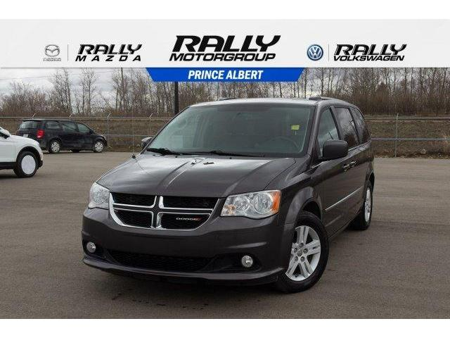 2015 Dodge Grand Caravan 29L Crew Plus (Stk: V852) in Prince Albert - Image 1 of 11
