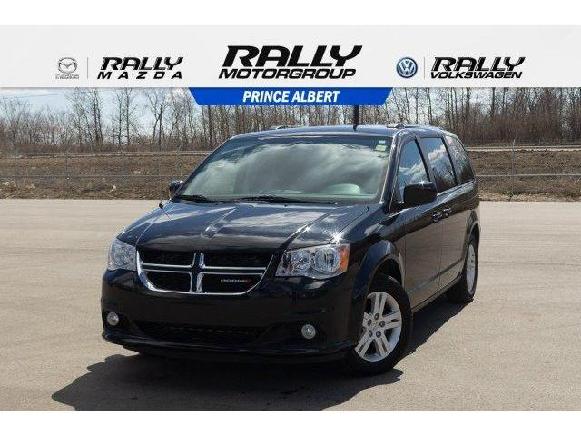 2018 Dodge Grand Caravan 29L Crew Plus (Stk: V858) in Prince Albert - Image 1 of 11