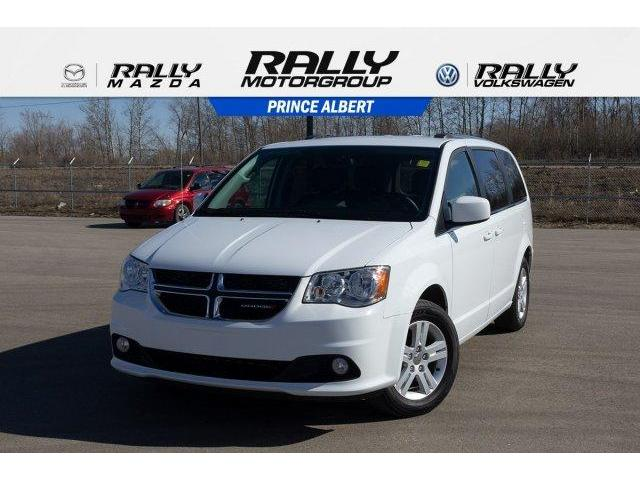 2018 Dodge Grand Caravan 29L Crew Plus (Stk: V856) in Prince Albert - Image 1 of 11