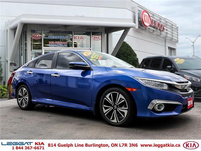 2016 Honda Civic Touring (Stk: 2366) in Burlington - Image 3 of 26