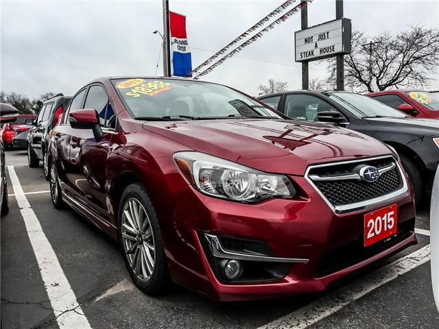 2015 Subaru Impreza 2.0i Limited Package (Stk: W0101A) in Burlington - Image 1 of 1