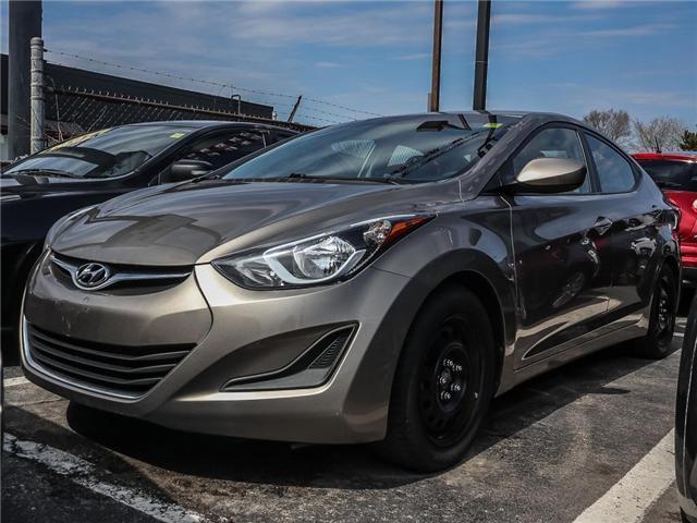 2014 Hyundai Elantra GL (Stk: 2359A) in Burlington - Image 1 of 1