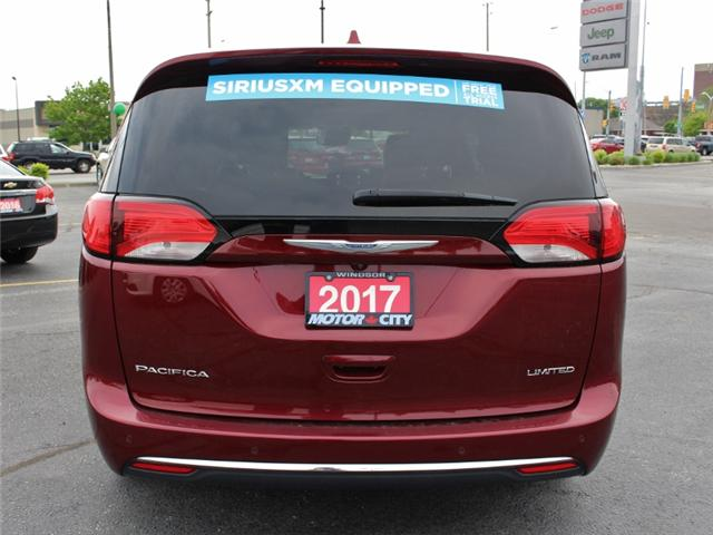 2017 Chrysler Pacifica Limited (Stk: D0085) in Leamington - Image 6 of 27