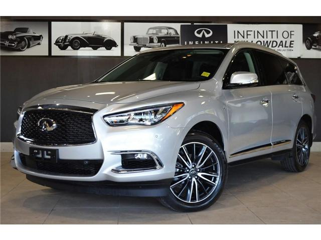 2019 Infiniti QX60 Pure (Stk: U16524) in Thornhill - Image 1 of 29