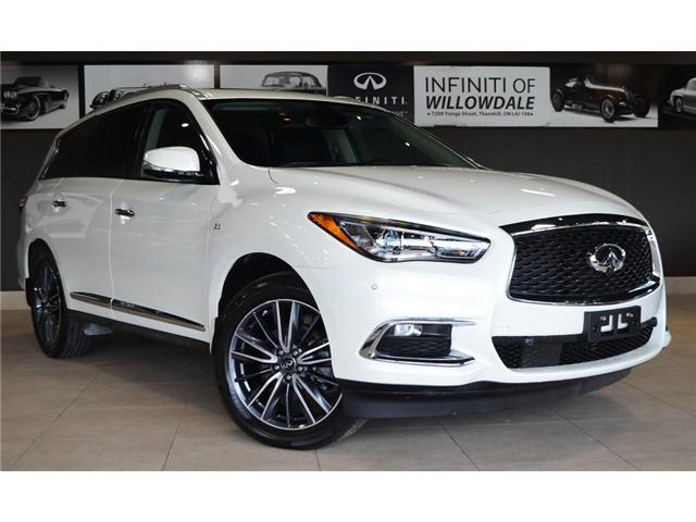 2019 Infiniti QX60 Pure (Stk: U16521) in Thornhill - Image 2 of 30