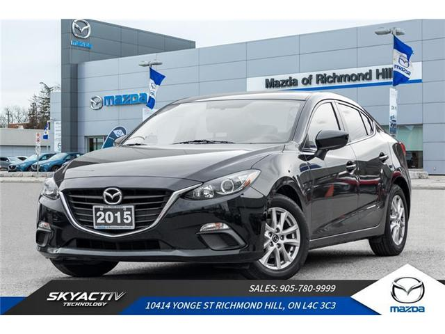 2015 Mazda Mazda3 GS (Stk: P0404) in Richmond Hill - Image 1 of 18