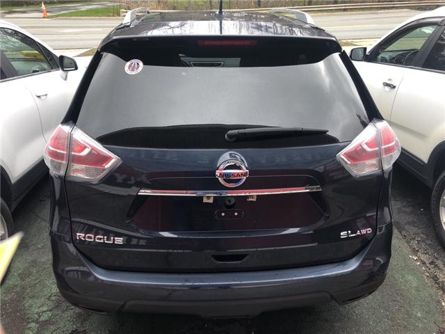 2016 Nissan Rogue SL Premium (Stk: ) in Dartmouth - Image 4 of 12