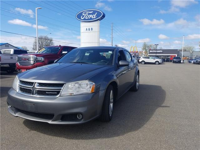 2012 Dodge Avenger SXT (Stk: 18630A) in Perth - Image 1 of 12