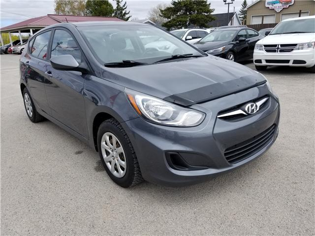 2013 Hyundai Accent L (Stk: ) in Kemptville - Image 1 of 16