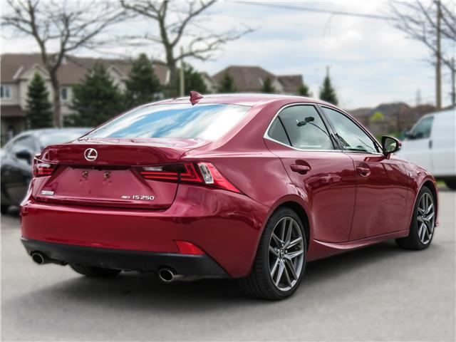 2015 Lexus IS 250 Base (Stk: 12027G) in Richmond Hill - Image 4 of 20