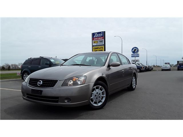 2005 Nissan Altima 2.5 S (Stk: P404) in Brandon - Image 1 of 13
