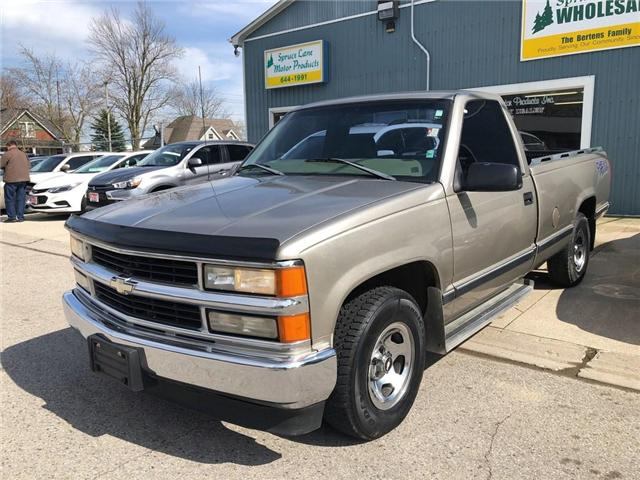 1998 Chevrolet C1500  (Stk: 37845) in Belmont - Image 1 of 14