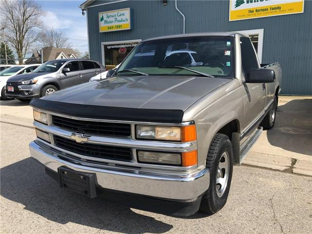 1998 Chevrolet C1500  (Stk: 37845) in Belmont - Image 2 of 14