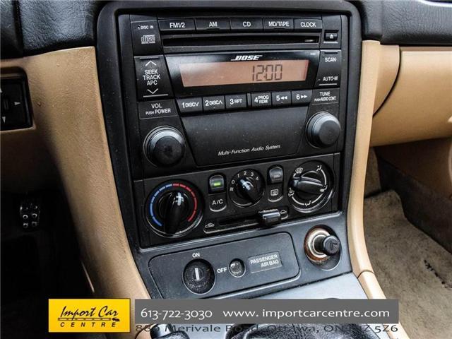 2002 Mazda MX-5 Miata  (Stk: 226044) in Ottawa - Image 25 of 30