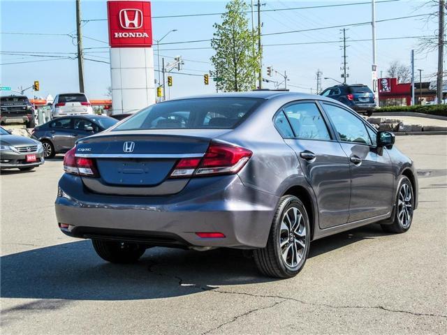 2015 Honda Civic EX (Stk: 3308) in Milton - Image 5 of 24