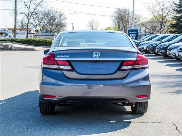2015 Honda Civic EX (Stk: 3308) in Milton - Image 6 of 24