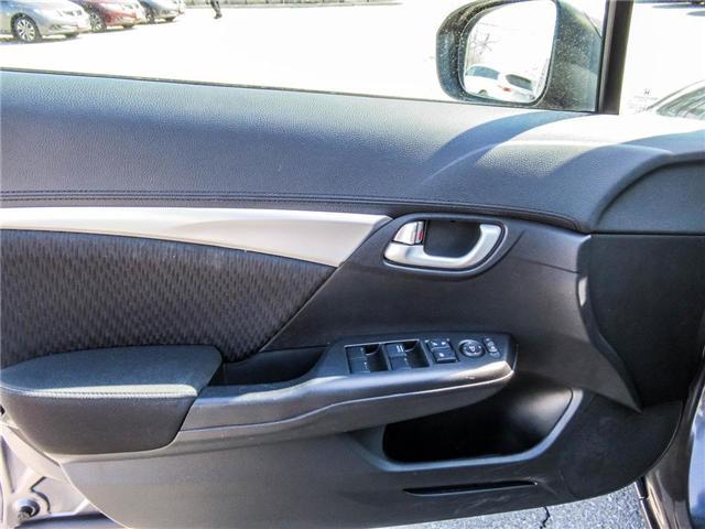 2015 Honda Civic EX (Stk: 3308) in Milton - Image 9 of 24