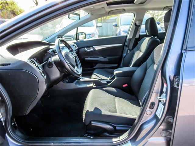 2015 Honda Civic EX (Stk: 3308) in Milton - Image 11 of 24