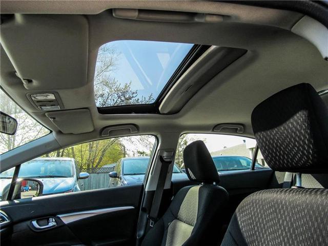 2015 Honda Civic EX (Stk: 3308) in Milton - Image 19 of 24