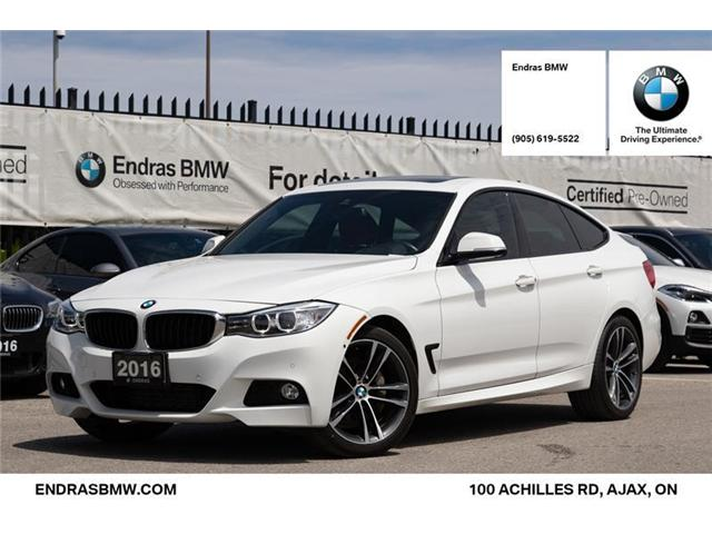 2016 BMW 335i xDrive Gran Turismo (Stk: 35301A) in Ajax - Image 1 of 22