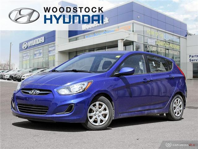 2013 Hyundai Accent  (Stk: KA19052A) in Woodstock - Image 1 of 27