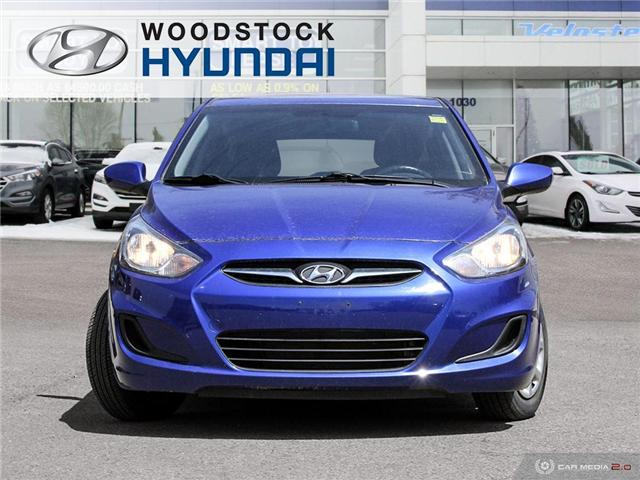 2013 Hyundai Accent  (Stk: KA19052A) in Woodstock - Image 2 of 27