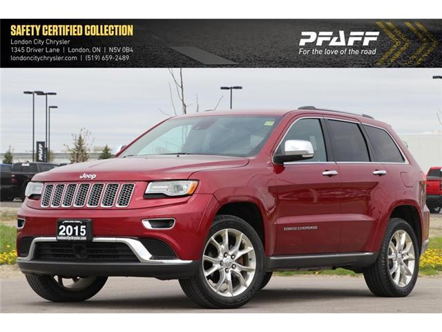 2015 Jeep Grand Cherokee Summit (Stk: LC9657A) in London - Image 1 of 22