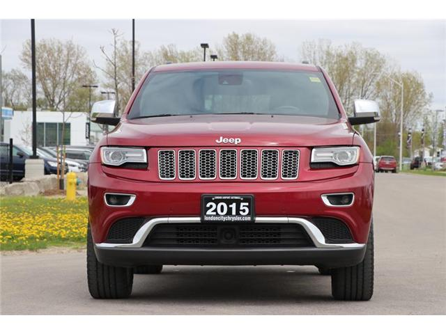 2015 Jeep Grand Cherokee Summit (Stk: LC9657A) in London - Image 2 of 22