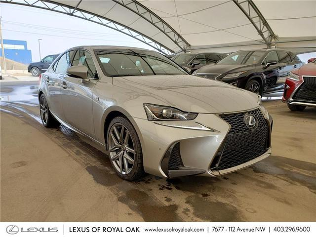 2019 Lexus IS 300 Base (Stk: L19410) in Calgary - Image 1 of 5