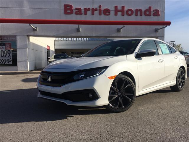 2019 Honda Civic Sport (Stk: 19961) in Barrie - Image 1 of 5