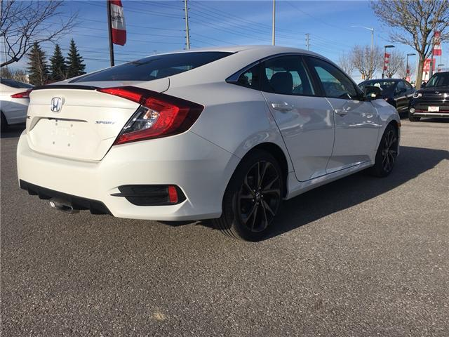 2019 Honda Civic Sport (Stk: 19961) in Barrie - Image 4 of 5