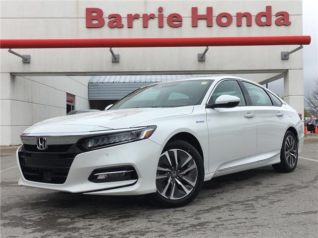 2019 Honda Accord Hybrid Touring (Stk: 191099) in Barrie - Image 1 of 12