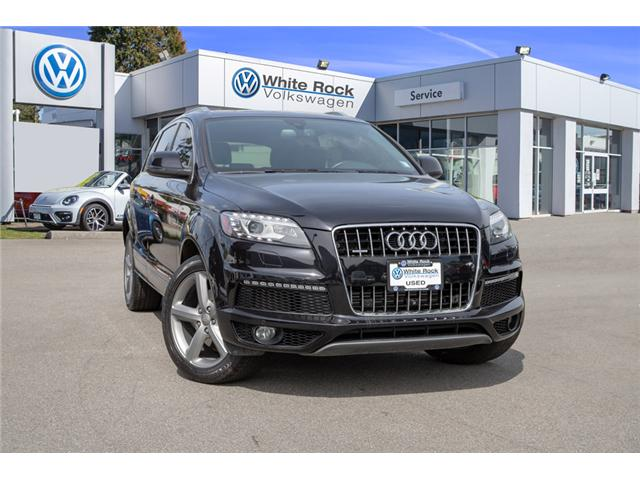 2015 Audi Q7 3.0T Sport (Stk: VW0836) in Vancouver - Image 1 of 30