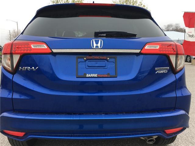 2019 Honda HR-V Touring (Stk: 19846) in Barrie - Image 4 of 12