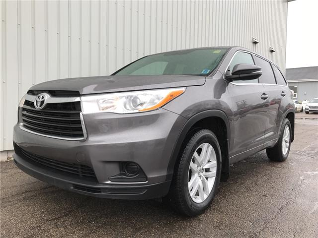 2015 Toyota Highlander LE (Stk: SUB1944TA) in Charlottetown - Image 1 of 21