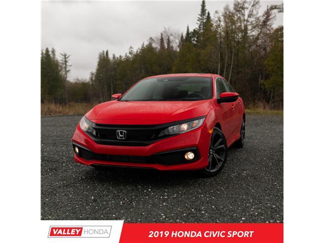 2019 Honda Civic Sport (Stk: N05191) in Woodstock - Image 1 of 11