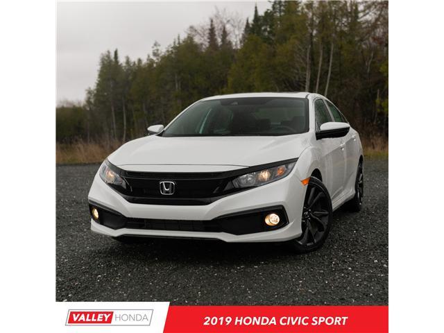 2019 Honda Civic Sport (Stk: N05136) in Woodstock - Image 1 of 8